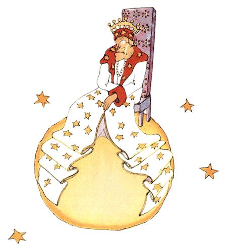 Der kleine Prinz – Der König