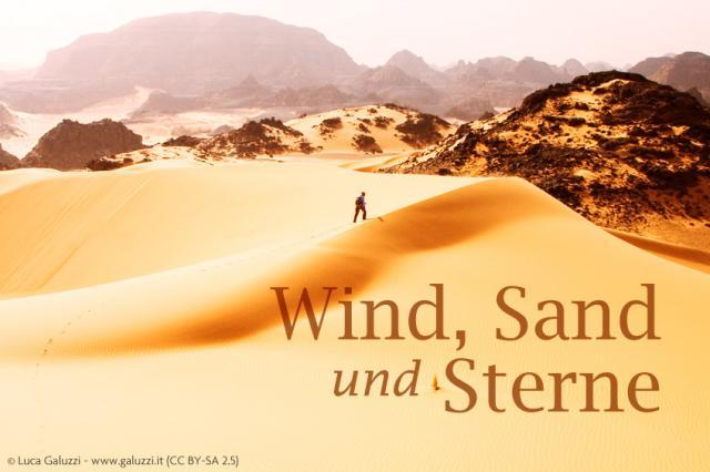 Wind, Sand und Sterne – Ein preisgekrönter Roman von Antoine de Saint-Exupéry